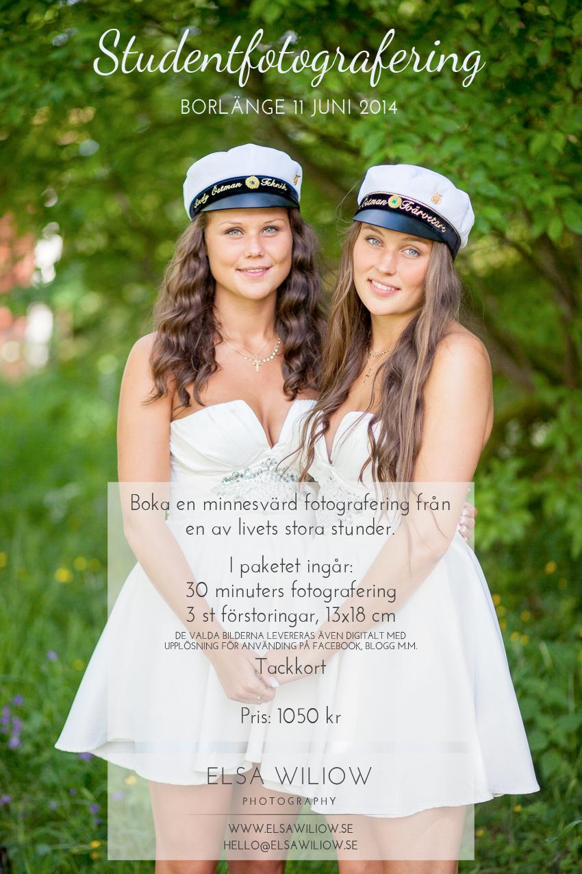Studentfotografering Borlänge - Fotograf Elsa Wiliow Photography