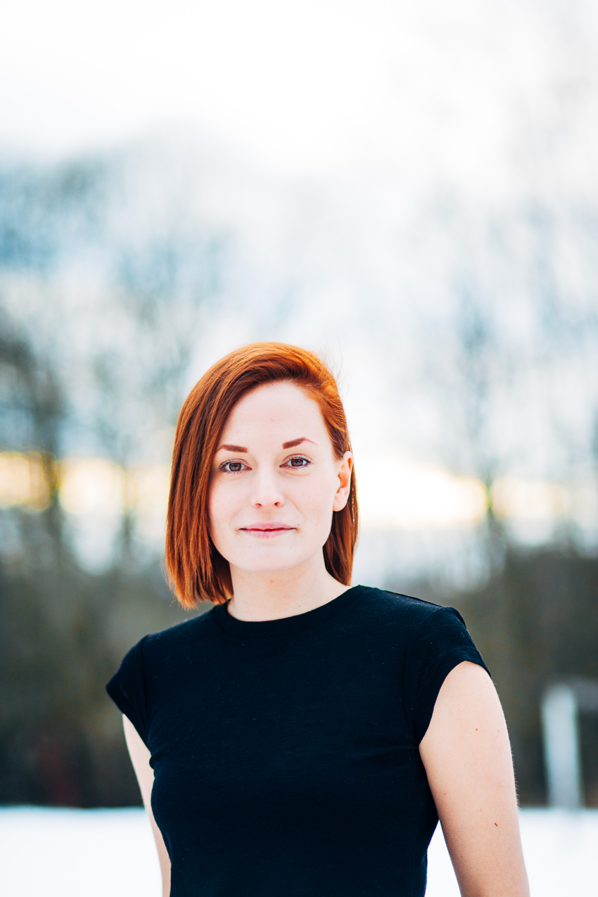 Linneas CV-fotografering – Fotograf Elsa Wiliow, Borlänge, Dalarna