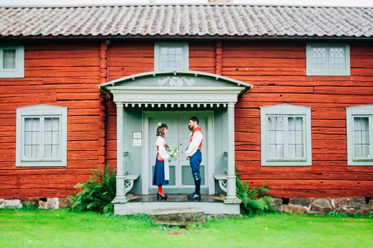 Susanna & Tobias, Stora Skedvi - Bröllopsfotograf Elsa Wiliow, Säter, Borlänge, Dalarna