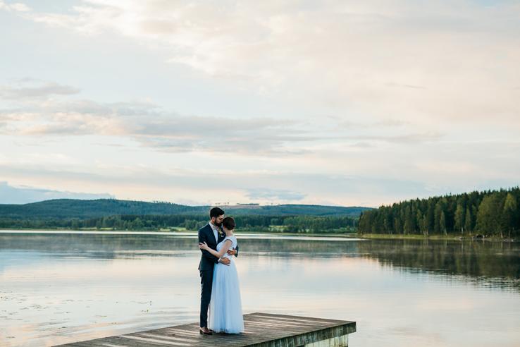 Pernilla & Jakob, bröllop i Vassbo - Bröllopsfotograf Elsa Wiliow